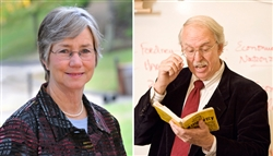 Mrs. Cissy May began her McCallie career in 1983, and Dr. Michael Woodward in 1987. Both have received multiple honors recognizing their teaching acumen, from within the McCallie community and beyond.