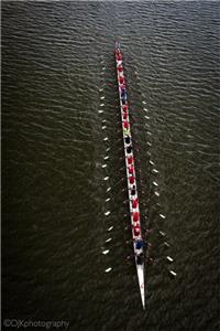 Crew rowing the Stampfli on the Potomac, DC on Sept. 27