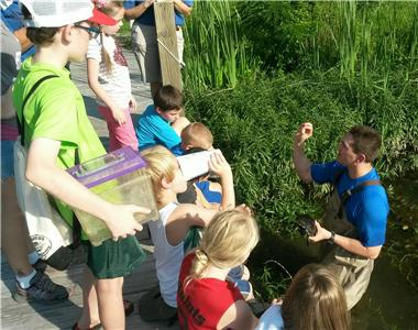 Nature Nuts in the field with Dr. Josh Ennen, Tennessee Aquarium Conservation Institute aquatic conservation biologist.