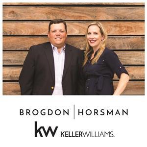Sarah Brogdon and Davey Horsman