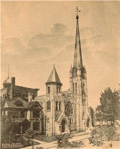 Stone Church at McCallie and Georgia