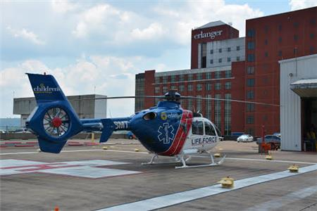 The LIFE FORCE 6 helicopter will be based at Western Carolina Regional Airport in Andrews, N.C.