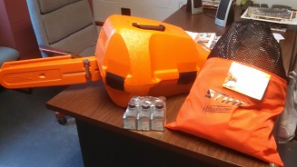 Crossroads Volunteer Fire Department used the Tennessee American Water Firefighting support grant to purchase a chainsaw. During 2016, the CVFD was burglarized which included the loss of several tools.