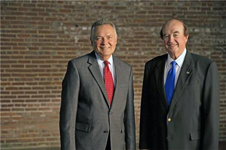 Harold Crye, left, and Dick Leike