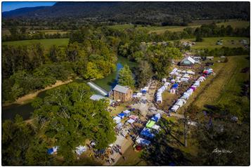 View from above of the annual Ketner's Mill country fair - a fall classic. See more Ketner's Mill photos in Happenings.