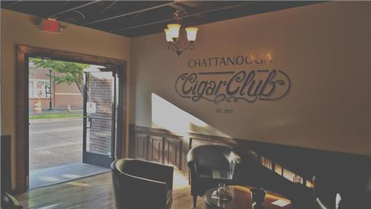 The Chattanooga Cigar Club is at 1518 Market St.