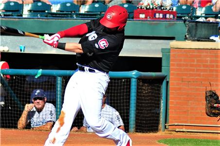 Andy Wilkins, who recently joined the Lookouts from the disabled list, slugged two home runs in the game