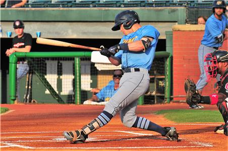 Montgomery's Nick Solak's two-run homer was his 13th of the season.