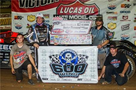 Tennessean Scott Bloomquist celebrated his 600th overall victory Saturday