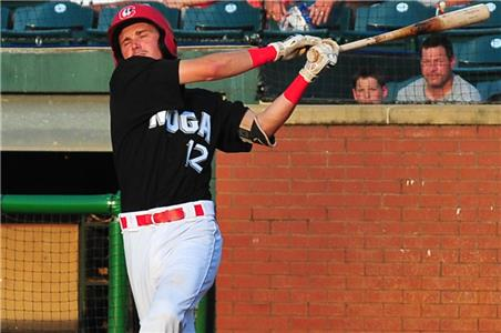 Jordan Gore, who was promoted from Low-A Cedar Rapids, seems to have adjusted well to the Double-A Lookouts.